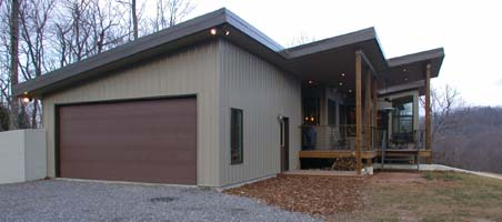 A modern passive solar home that is beautiful and energy efficient