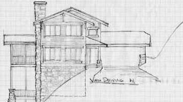 Steep lot house plans find house plans for Cost of building on a steep slope