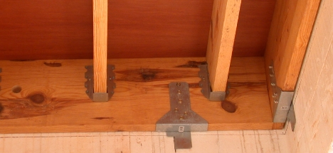 Framing The Wood Walls Floors And Roof
